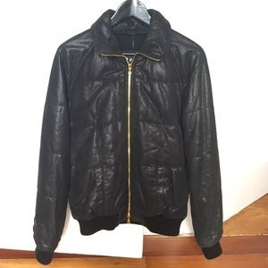 Giorgio Brato Jackets & Blazers - Brand new leather bomber jacket by Giorgio Brato