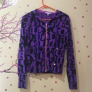*Juicy Couture cute purple sweater*