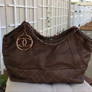 Authentic Chanel Baby Coco Cabas Tote