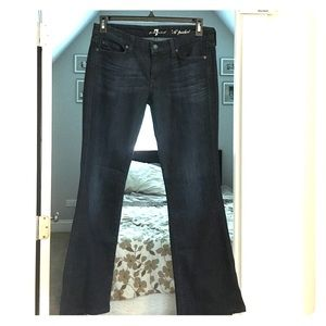 7 For All Mankind 'A' pocket denim jeans