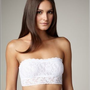 Hanky Panky Other - Hanky Panky Signature Lace Lined Bandeau, New!