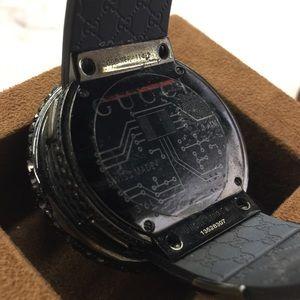 89f1de0a50c05 Gucci Accessories - Gucci Black Diamond Watch 114-2