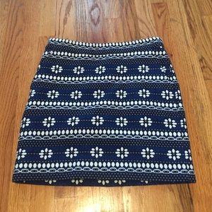 Jcrew crew mini skirt