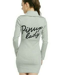 *New* Pinup Lady Winter Dress