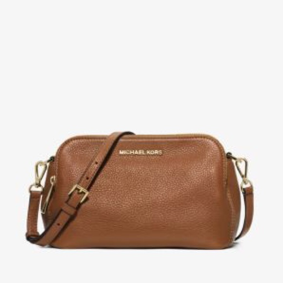 08b707e56285 Michael Kors Bags | Bedford Medium Leather Crossbody | Poshmark