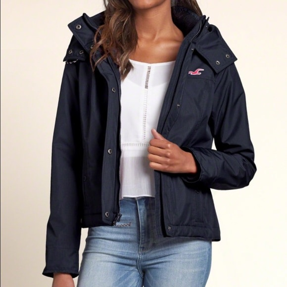 82% off Hollister Jackets &amp Blazers - Hollister All Weather Jacket