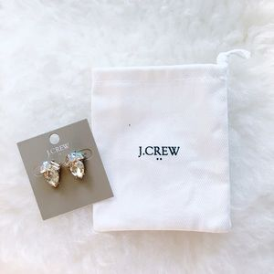 ⚬J. Crew⚬Crystal Cluster Earrings