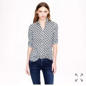 Jcrew perfect shirt in Foulard