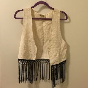Show Me Your MuMu Jackets & Blazers - Show Me Your Mumu tapestry fringe vest