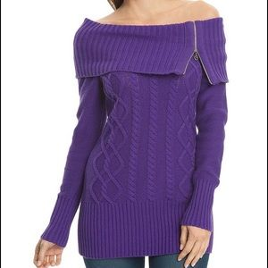 G by Guess Sweaters - Knit off the shoulder sweater