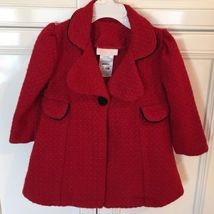 Bonnie Baby Other - ❗️1 HR SALE❗️Red stylish coat