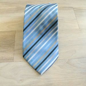 Other - 🔴Cheri Copain Blue striped tie