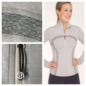 Lululemon NWOTDefine Jacket Heathered Sandune Wee
