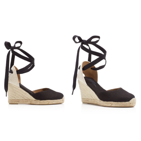 c79a0f1a798 Soludos Tall Lace Up Espadrille Wedge Sandals. M 57e5cae34127d074ee004e2e