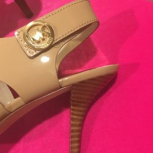 852a26b97e68 MICHAEL Michael Kors Shoes - Sexy Kitten Heel MK Nude Sandals!