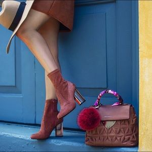 Jeffrey Campbell Shoes - Jeffrey Campbell Lucine Brown Suede Bootie