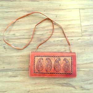 ⬇️Vintage Leather Crossbody Bag