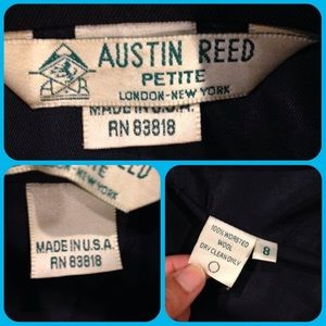 Austin Reed Jackets Coats Austin Reed Petite London New York Wool Blazer 8 Poshmark
