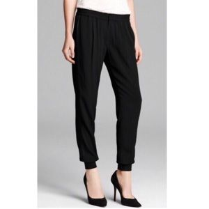 Helmut Lang pleated jogger