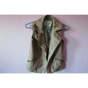 American Rag Jackets & Blazers - Pink leather vest