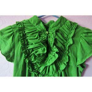 HeartSoul Tops - HeartSoul Green blouse