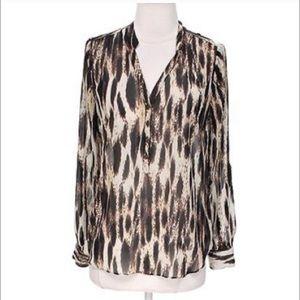 a.n.a Tops - A.N.A Leopard Blouse