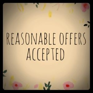 REASONABLE OFFERS ACCEPTED 👍