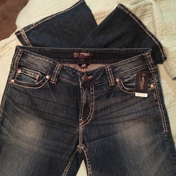 59% off Silver Jeans Denim - Silver jeans suki surplus size 34/34 ...