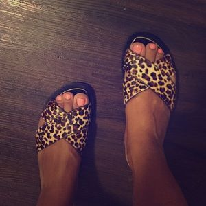 J. Crew Shoes - JCrew Cheetah Sandal...