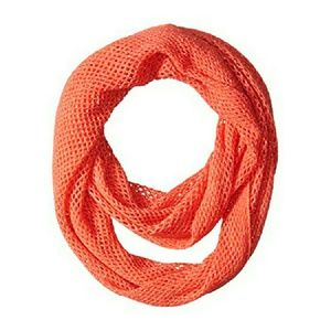 Steve Madden Accessories - Steve Madden Sparkly Fishnet Infinity Scarf NWT