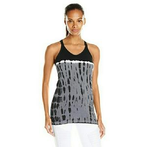Spalding Tops - Seamless Double Strap Racerback Athletic Tank NWT