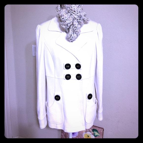 INC White Jacket Coat ala Olivia Pope
