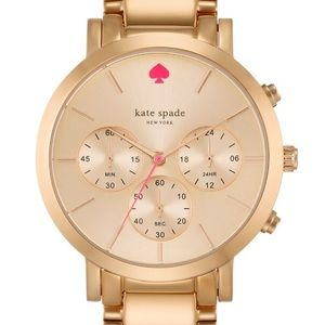 kate spade Gramercy Grand Rose Gold watch