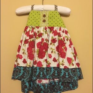 Other - 12 month Boutique Handmade Baby Girl Halter Dress