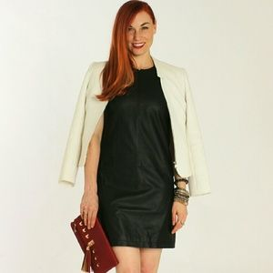 Chaiken Dresses & Skirts - Chaiken Leather Dress