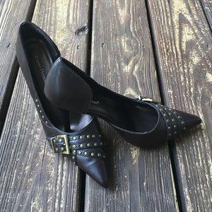 Pierre Dumas Shoes - Pierre Dumas Brown Pumps