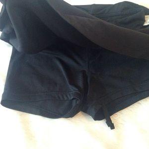 Champion Skirts - Black athletic skirt (skort)