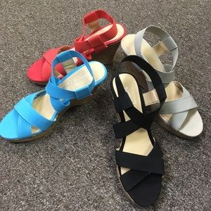 Simply Noelle Strappy Wedge