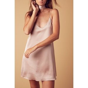 Dresses & Skirts - 💗Satin Slip Dress - Blush