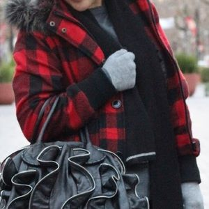 Forever 21 Jackets & Blazers - Forever 21 Red Buffalo Plaid Parka