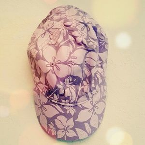 Accessories - Purple Flower Hat