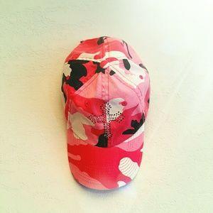 Accessories - Pink Camo Western Hat