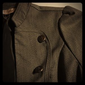 Soulmates Jackets & Blazers - Grey Military Style Jacket