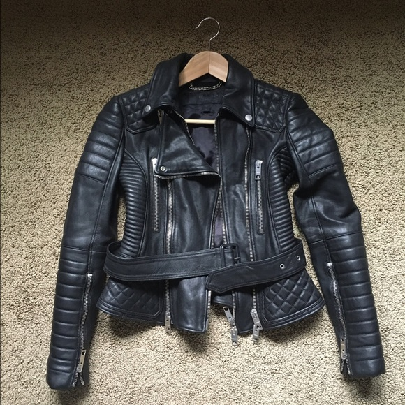 a1040920b3a Burberry Jackets & Blazers - Burberry Prorsum quilted leather motorcycle  jacket