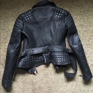 burberry prorsum quilted leather jacket ebay
