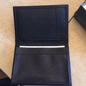 NEW longchamp cardholder black.