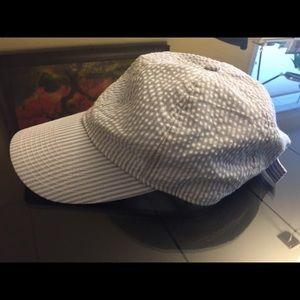 J.Crew seersucker baseball cap