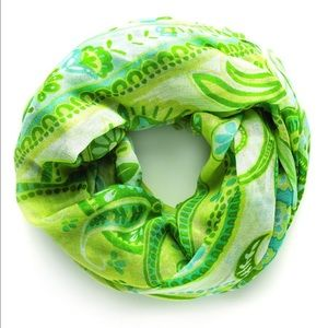 Spartina 449 Accessories - NWT Green Paisley Scarf - Spartina 449
