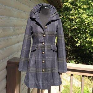 BB Dakota wool coat