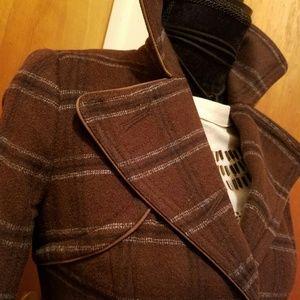Jackets & Blazers - PINSTRIPE BLAZER/COAT by Millard Fillmore